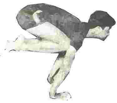 BAKASANA - The Crane  Posture