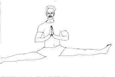 SAMAKONASANA - Straight Angle Posture